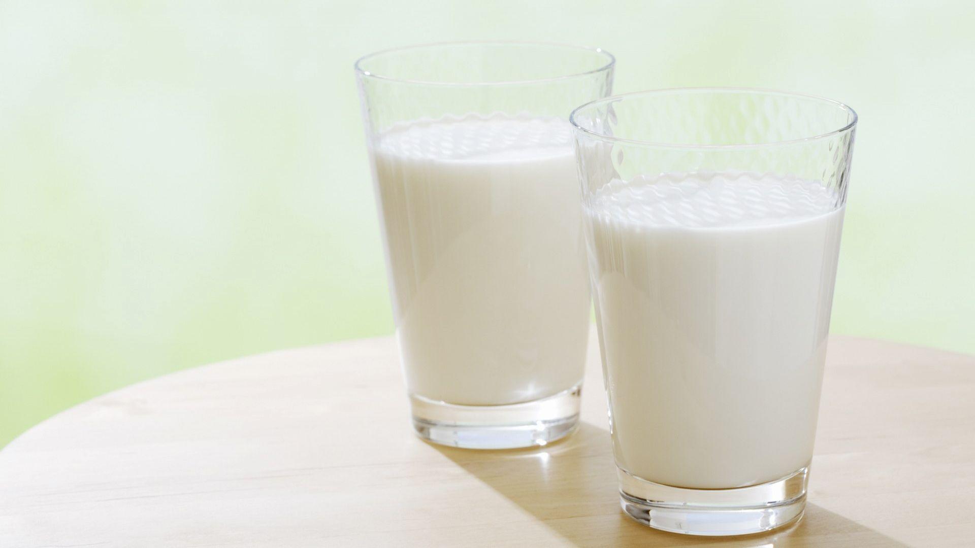Science behind serving milk on  Milk