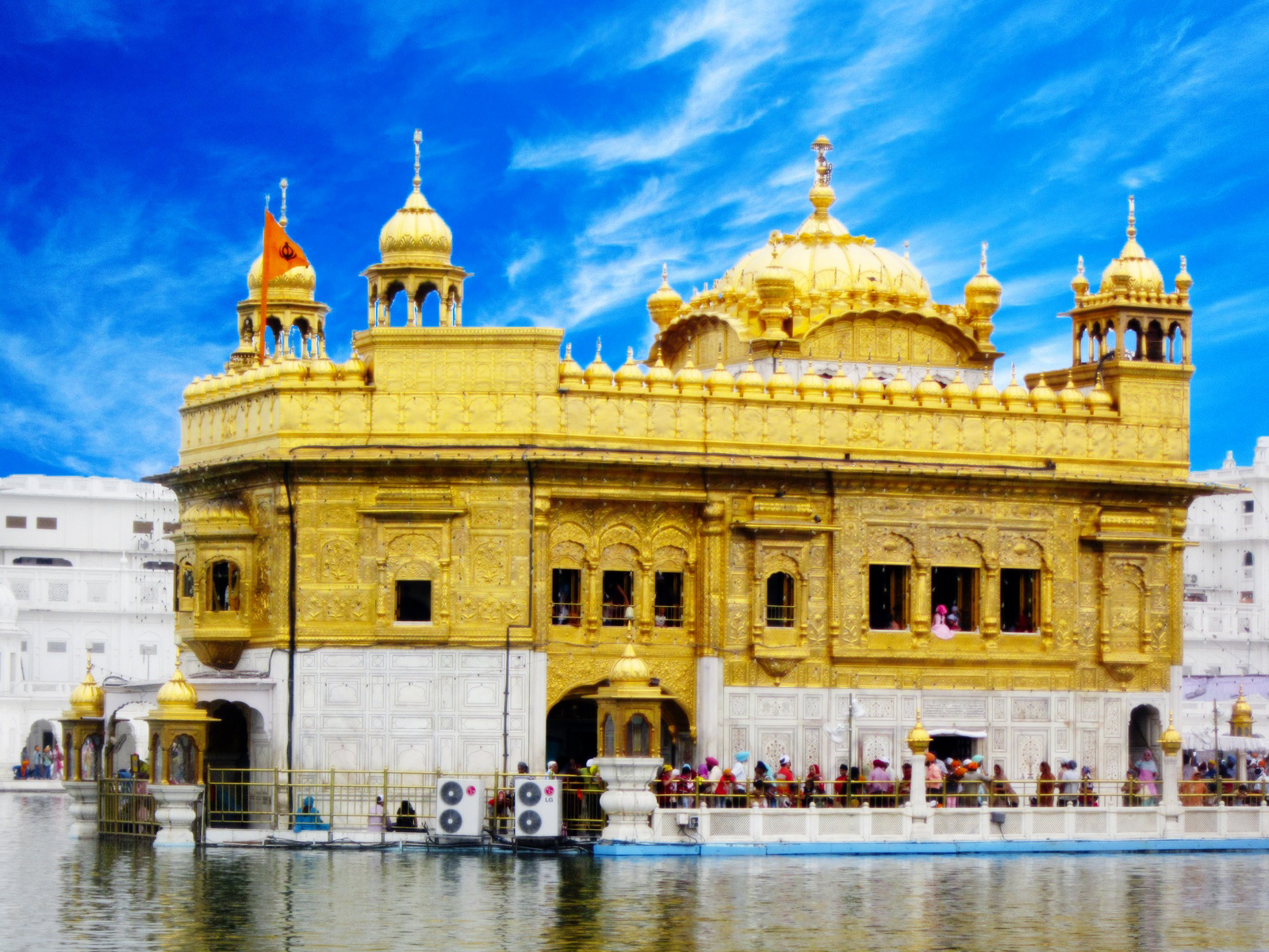 Essay on historical place golden temple