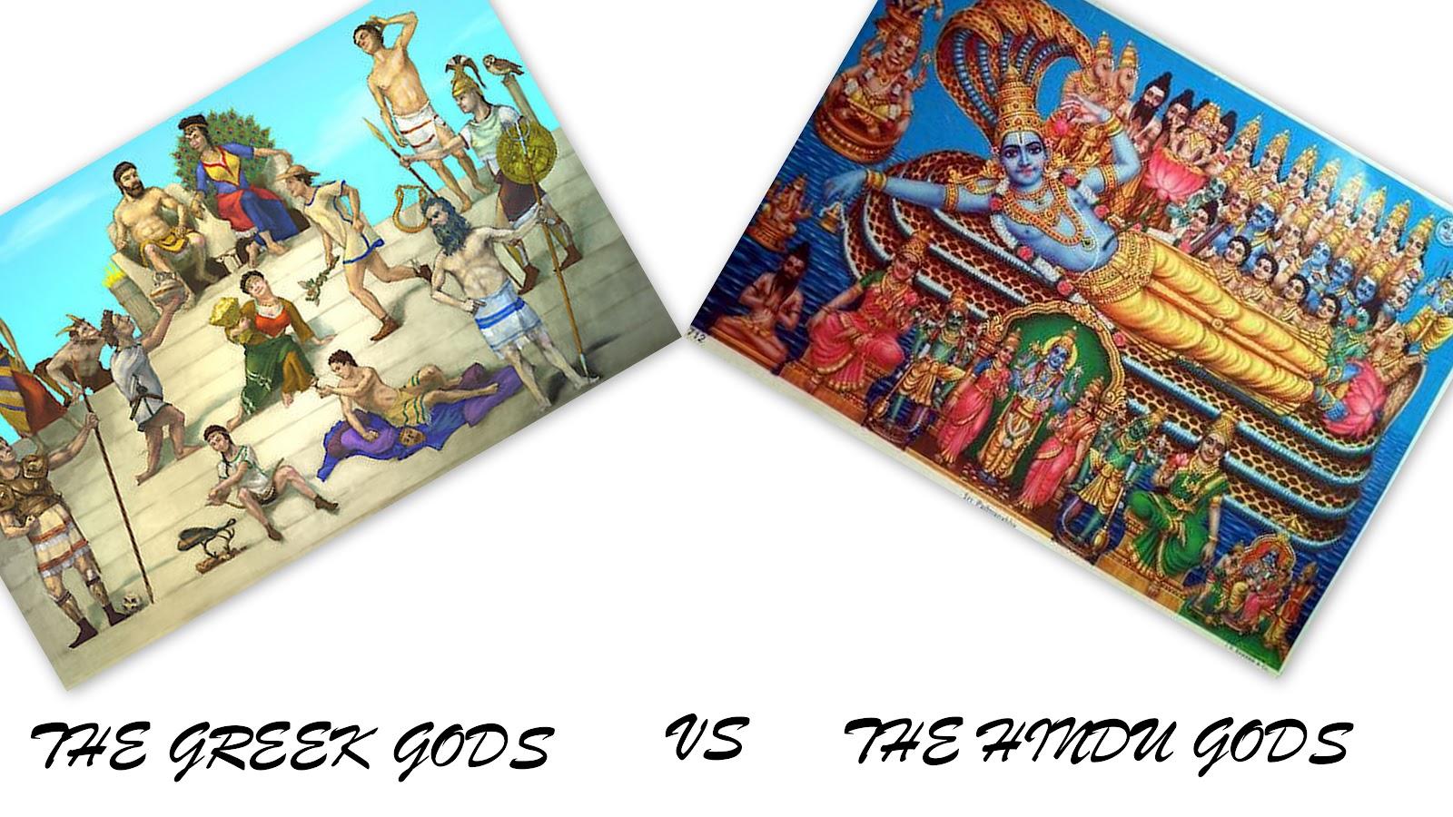hindu mythology vs greek mythology on emaze