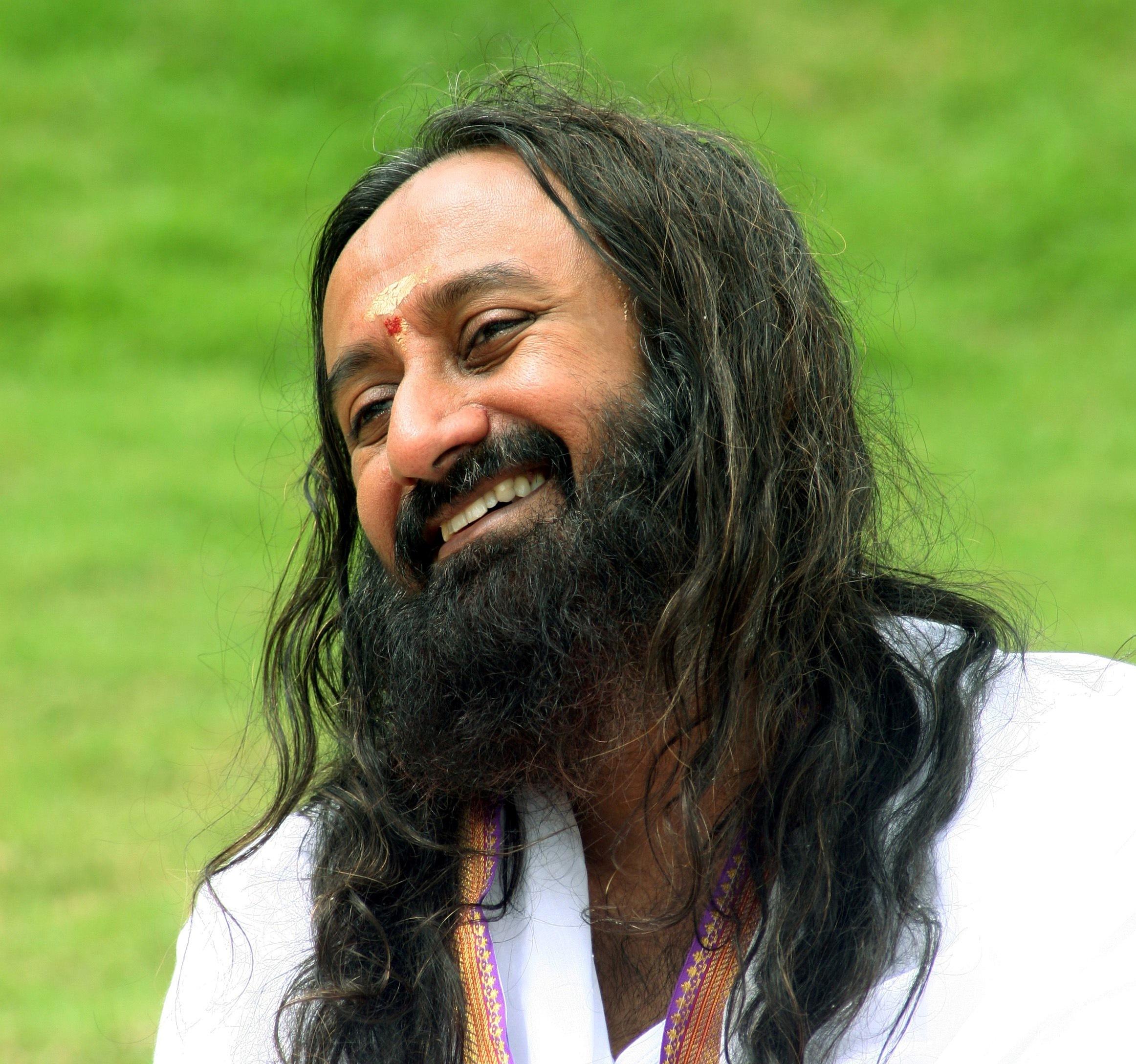 Sri Sri Ravi Shankar Quotes On Smile