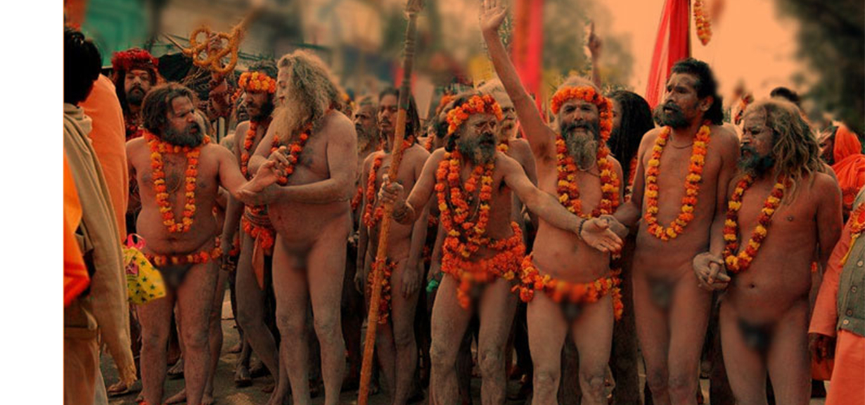 Who are naga sadhus