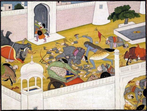Killing the Kshatriyas 21 times