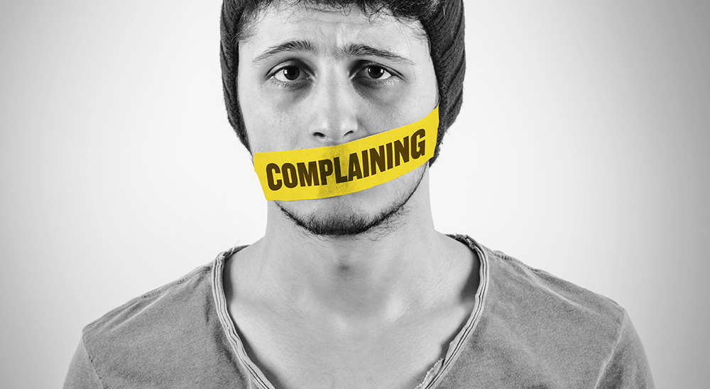 Can you go 24 hours without complaining? Here's how