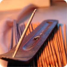 Fourth ritual: Burning of incense