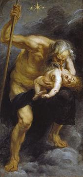 CRONUS DEVOURED HIS SONS