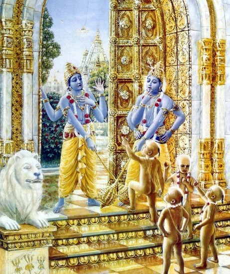 3. The Curse On Jaya and Vijaya