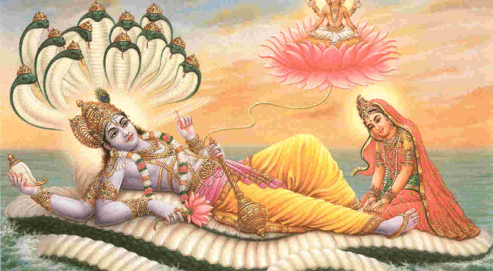 the prominence of vishnu and his Is indra the chief god of lord vishnu and godness durga etc the got more prominence like in vedic days lord vishnu was famous for his three strides which.