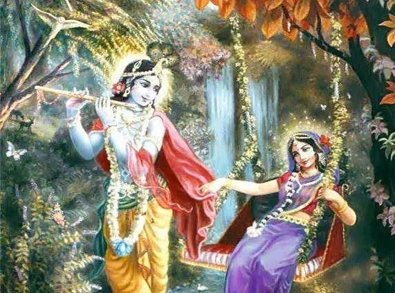 The supreme share the highest emotion of divine love