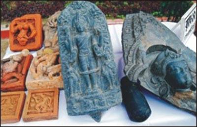 Ancient Idol of Lord Vishnu found in Russia