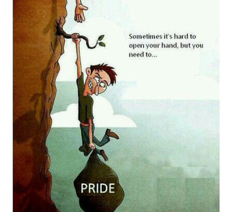 false pride brings about your downfall
