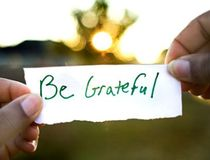 A Small Disaster Reminds Us To Be Grateful