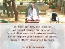 Karmas, Faith and Healing - Guruji Krishnananda