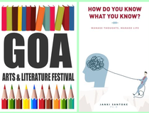 Goa Lit Fest - Book Launch of Jankiji's new book