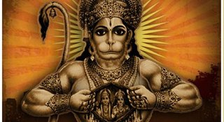 Praying to this avatar of Hanuman will bring you good luck and fortune!