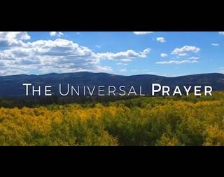 THE UNIVERSAL PRAYER