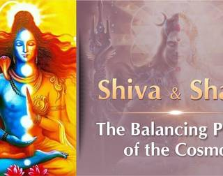 Shiva & Shakti-The Balancing Power of the Cosmos