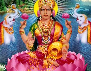 Why is the goddess Lakshmi always seen sitting next to Lord Vishnu's feet whereas other goddesses do not? Also, what message does it give to society about women's status in Hinduism?
