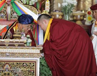 H.H Gyalwang Drukpa & H.E Thuksey Rinpoche celebrate lunar birthday