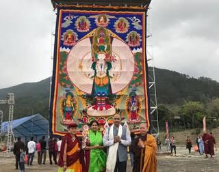 Ambassador meets His Holiness Gyalwang Drukpa
