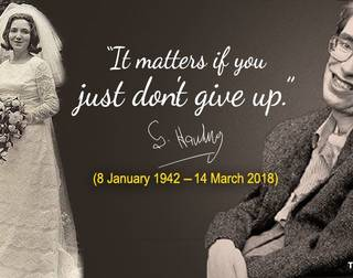 Amazing Quotes of  Eminent Professor Stephen Hawking