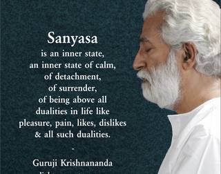 Momentary Bliss   by Guruji Krishnananda