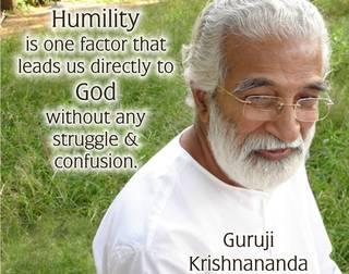 Defining Humility   Guruji Krishnananda