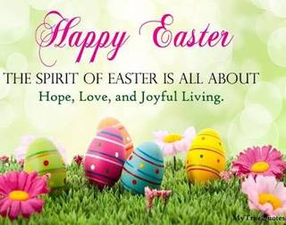 Happy Easter Day- The Lord Is Back
