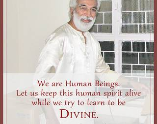 It is only Human - by Guruji Krishnananda