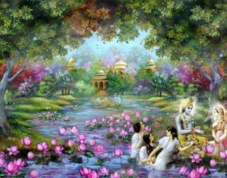 Spring Like Summer in Vrindavana
