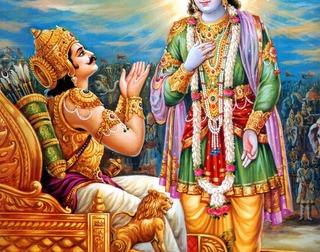 Krishna & Arjun