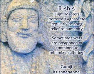 Rishis The Great Light Masters are available by Guruji Krishnananda