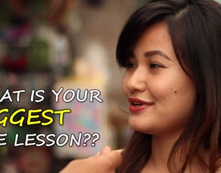 People Talk About Their Biggest Life Lesson In This Inspiring & Thought-Provoking Video