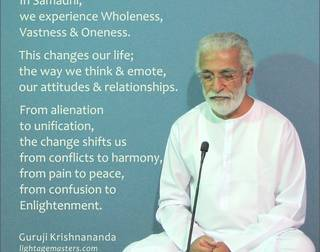 On Samadhi    by Guruji Krishnananda
