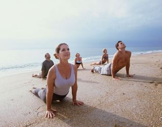 Surya Namaskar or Sun Salutation the complete  Yoga Pose  explained