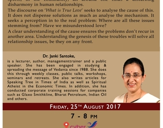 What is True Love - Talk in Hyderabad