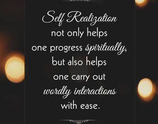 3 Reasons to attain Self Realization, It's not because of Peace but it's for YOU !!