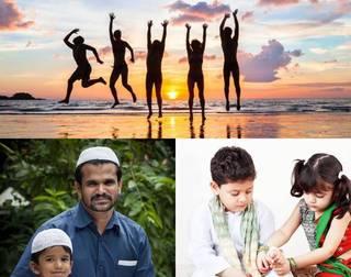 Faith,  friends and family - Eid, friendship day & Rakhi