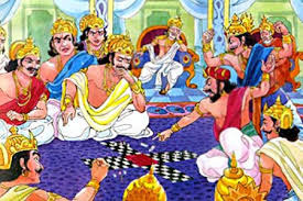 Dharamaraja Yudhishthira, Who gave you  the right to gamble me out?