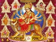 NAVARATRI - O - MAKING OF MA DURGA.
