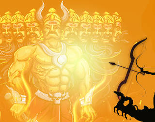 This Dussehra, Bring an end to Ravan within