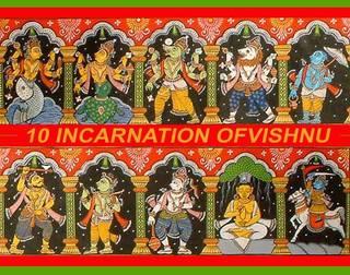 10 Avatar of Shri Vishnu