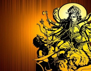 Nine nights of Devi