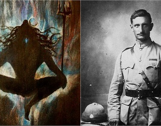 This British officer in 1879 claimed that a Shiva-like 'Yogi with braided locks' saved his life in Afghanistan!