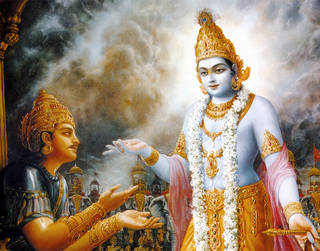 The Dramatic Climax In The Bhagwad Gita