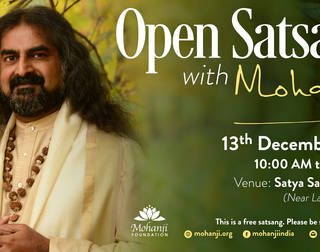 Open Satsang with Mohanji - December 2017