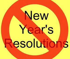 SOME NEW YEAR RESOLUTION