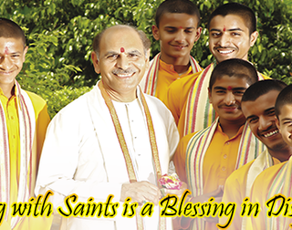 Being with Saints is a Blessing in Disguise