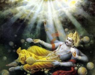 Krishna or Vishnu?