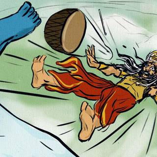 जब शिव ने रावण को कैलाश से नीचे फेंक दिया