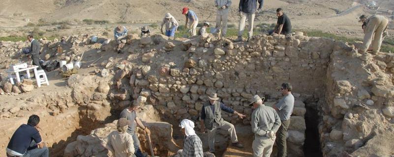 Tall el-Hammam, a site in Jordan under excavation
